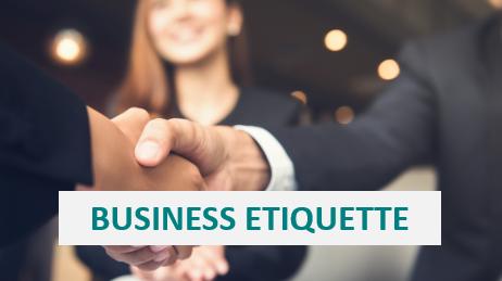 Tero Clinics - Business Etiquette Image