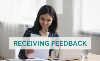 receiving feedback